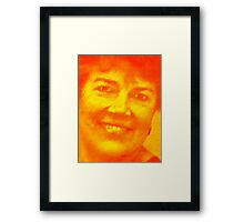 Thank you to my favorite teacher, Mrs. Kathy Swanson Hoff Framed Print