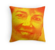 Thank you to my favorite teacher, Mrs. Kathy Swanson Hoff Throw Pillow