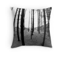Newborough Trees Throw Pillow