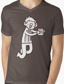 Doodle Jawn Mens V-Neck T-Shirt