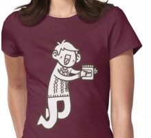 Doodle Jawn Womens Fitted T-Shirt