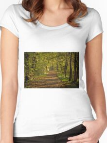 25 october 2009 Women's Fitted Scoop T-Shirt