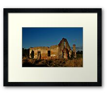 Once Upon a Time - Tenterfield Framed Print