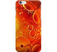 Planetary Orange iPhone Case/Skin