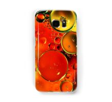 Planetary Orange and Yellow Samsung Galaxy Case/Skin