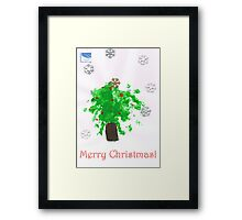 Williams Christmas Tree Framed Print