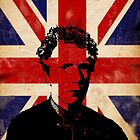 Jonny Rotten / union flag by Chris-Cox