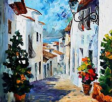 GREEK MOOD - LEONID AFREMOV by Leonid  Afremov