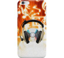 Listen..to the music iPhone Case/Skin