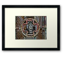 Cell Block Three Revisited Framed Print