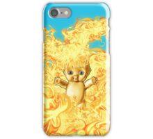 Flaming Kewpie iPhone Case/Skin