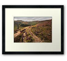 Edale, Afternoon Sunlight Framed Print