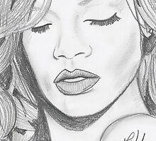 Rihanna by JiminyWood