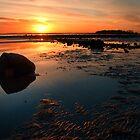 Strangford Sunset by Alan McMorris