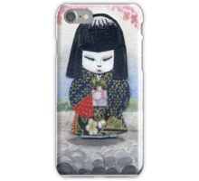 Japanese Paper Doll iPhone Case/Skin