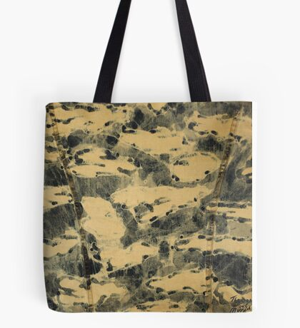 Water Camouflage Tote Bag