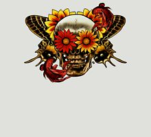 Skull In Bloom. T-Shirt