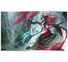 Koi Nami - League of Legends Poster