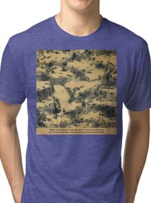 Water Camouflage  Tri-blend T-Shirt