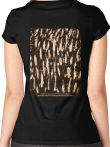 Snow Tree  Women's Fitted Scoop T-Shirt