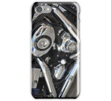 Silver & Black iPhone Case/Skin