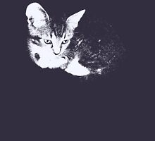 Furry Kitten - One Color Vector Women's Fitted Scoop T-Shirt