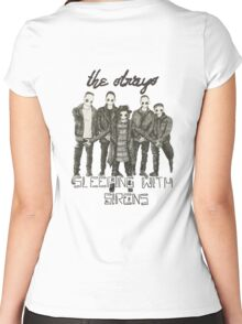 we are the strays Women's Fitted Scoop T-Shirt