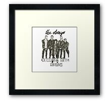we are the strays Framed Print