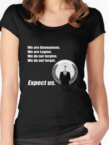 Anonymous Women's Fitted Scoop T-Shirt