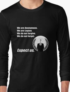 Anonymous Long Sleeve T-Shirt