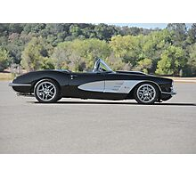 1958 Corvette Roadster 'On Location' I Photographic Print