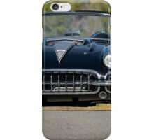 1958 Corvette Roadster 'On Location' III iPhone Case/Skin