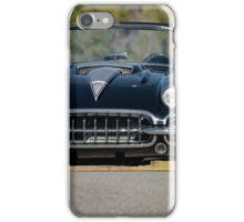 1958 Corvette Roadster 'On Location' III iPhone Case/Skin