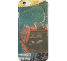 Visitors With Street-Food iPhone Case/Skin