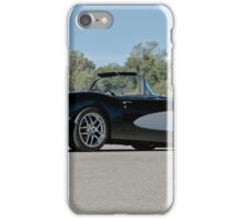 1958 Corvette Roadster 'On Location' IV iPhone Case/Skin