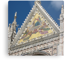 Siena Cathedral Metal Print