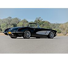 1958 Corvette Roadster 'On Location' IV Photographic Print