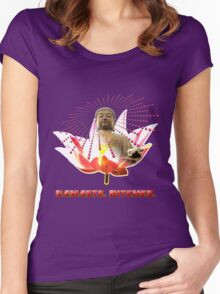 Namaste, Bitches! Women's Fitted Scoop T-Shirt