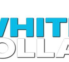 White Collar Sticker