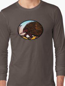 Australian Echidna Long Sleeve T-Shirt