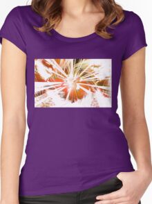 Lotus Buddha (v.Warm) Women's Fitted Scoop T-Shirt