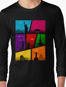 Cities of the World Long Sleeve T-Shirt