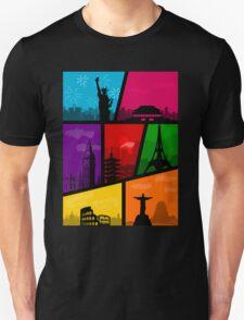 Cities of the World Unisex T-Shirt