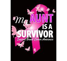 My Aunt Is A Survivor Photographic Print