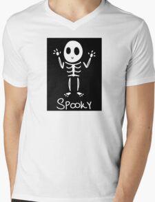 Spooky Skeleton~ Mens V-Neck T-Shirt