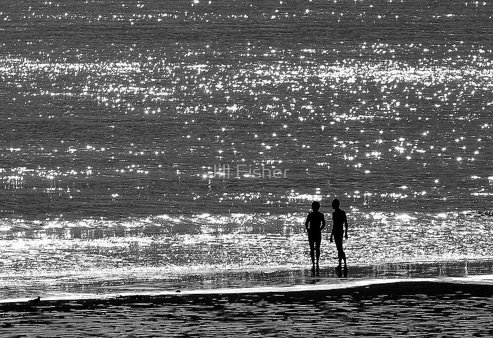 A Sea of Sparkling Diamonds by Jill Fisher