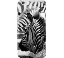 Pattern of zebras iPhone Case/Skin