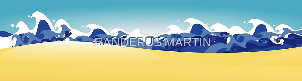 Life's a beach by Honeyboy Martin