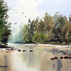Grose River, Yarramundi, NSW by Joe Cartwright
