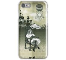 The Wonderland Reading Chair iPhone Case/Skin